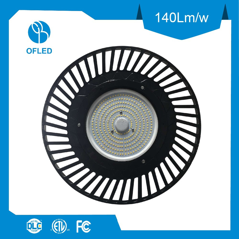 150W Die Casting Aluminum Heatsink LED High Bay Light Daylight Sensor Available