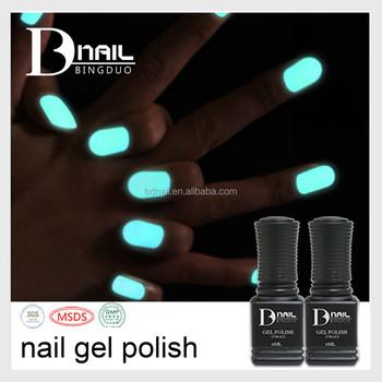 12 Colors Soak Off Nail Gel Polish Glow In The Dark UV Fluorescent Neon