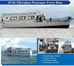 Philippines Fiberglass Passenger Boat, Philippines