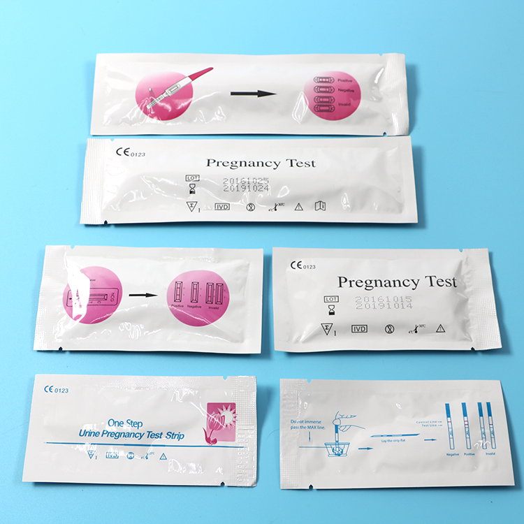 Pregnancy test strip