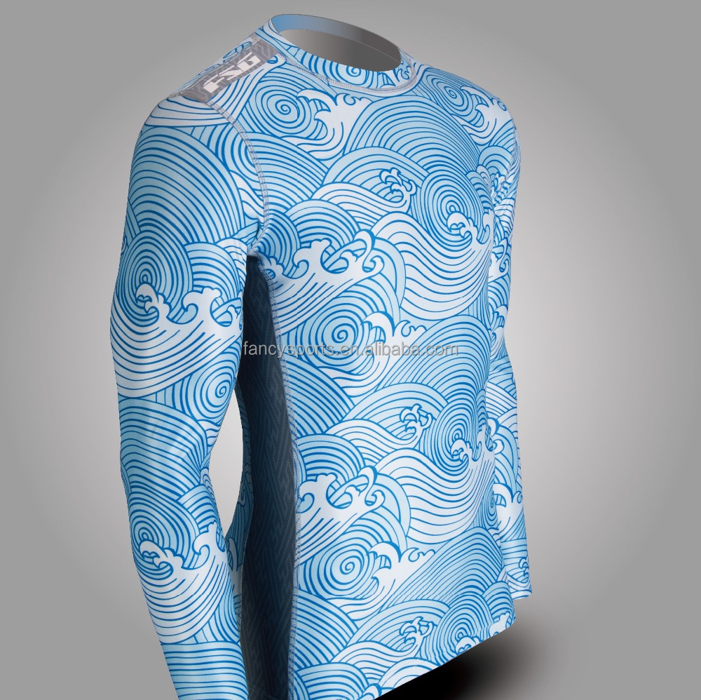 Long sleeves compression top