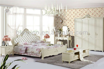 Lovely Girl\'s Series Bedroom Set,Contemporary Bed Room Solid Wooden  Furniture,Asian Royal Bed/ European Style Dresser - Buy European Bedroom  Furniture ...