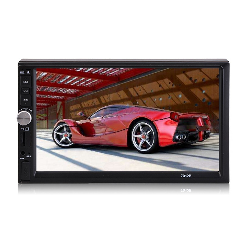 Doppel Wince 6,0 Touch Screen Radio Tuner Multimedia CD MP3 MP4/AAC/FLAC/WAV Auto Video Player