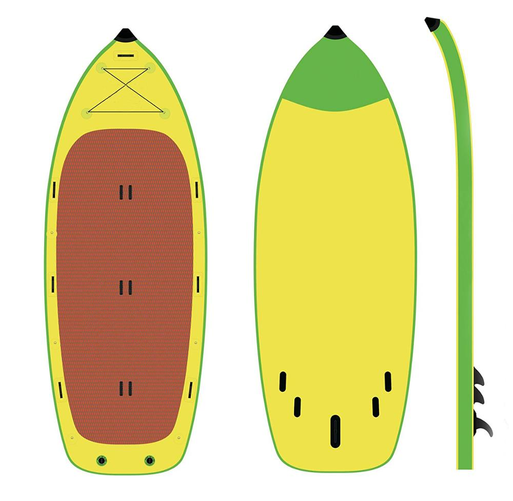Stand Up Paddle Inflatable กระดานโต้คลื่น Giant Sup Board