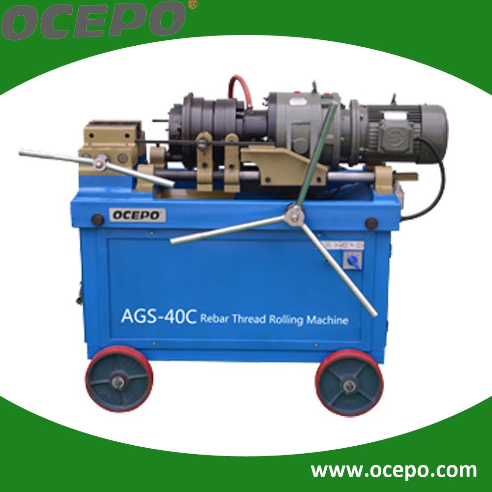 Cheaper Automatic steel rod threading machine price from alibaba