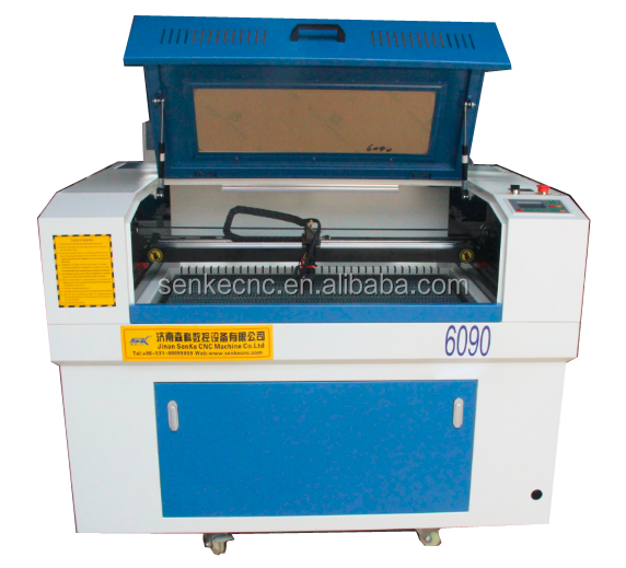 60w 6090 co2 laser tube wood/acrylic/paper leather laser cutting machine/laser engraving machine manufacturer for cheap price