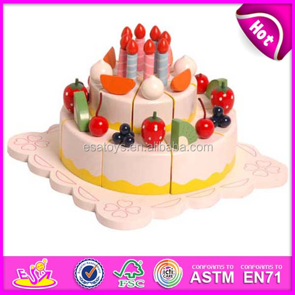 2015 New Wooden Cake Toy For Kidschildren Role Play Wooden Cake Toy For Birthdayhot Sale Colorful Cake Toy For Baby Wj276371 Buy Cake Toycake