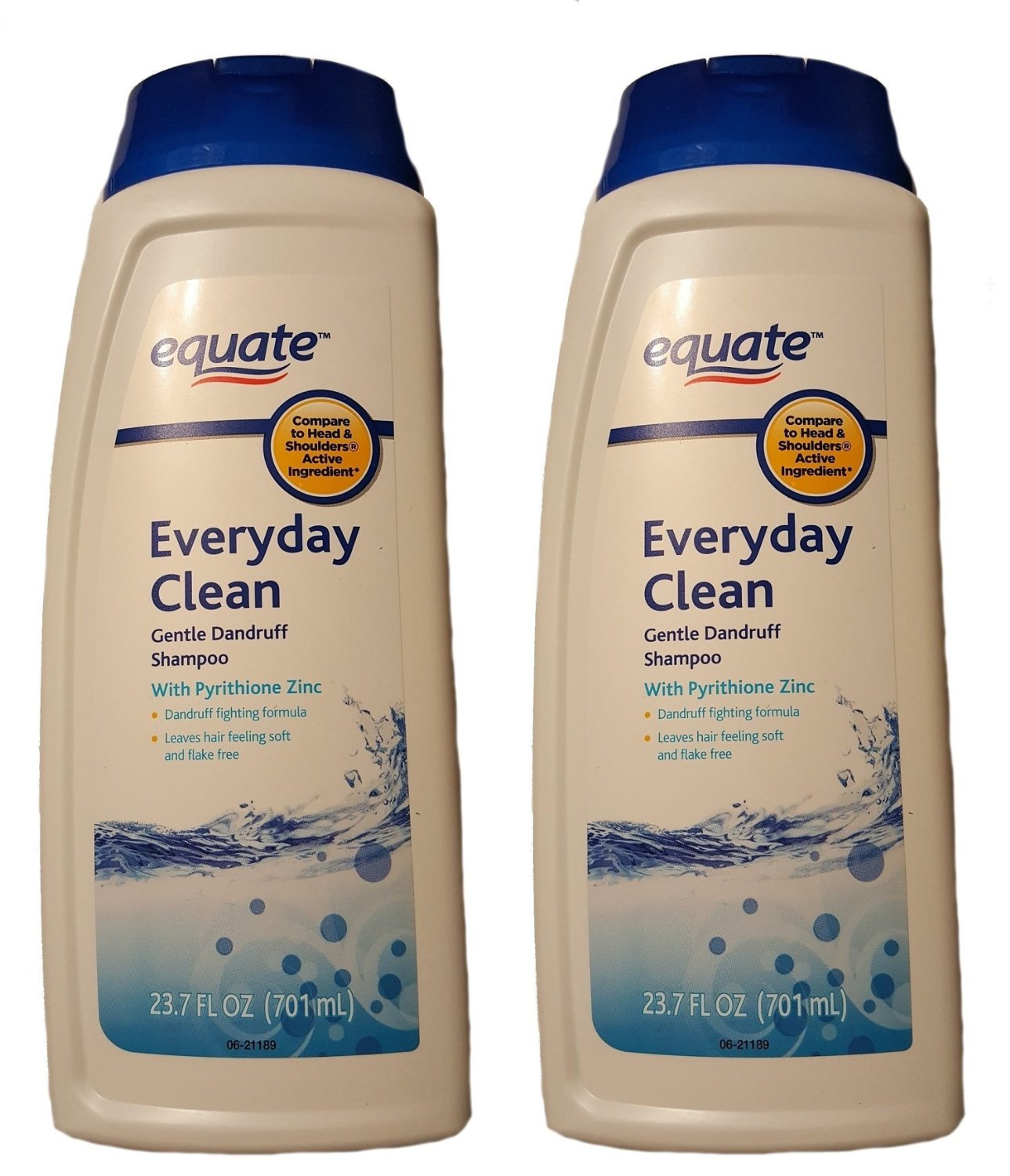 Get Quotations · Equate Everyday Clean Gentle Dandruff Shampoo, With Pyrithione  Zinc 23.7 Fl oz (Pack Of