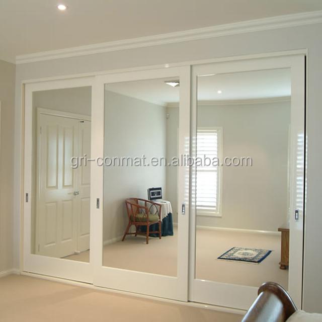Modern Interior Door/sliding Door With Tempered Glass