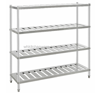 4 Tiers Stainless Steel Storage Kitchen Rack - Buy Kitchen Rack,Storage  Kitchen Rack,Storage Rack Product on Alibaba.com