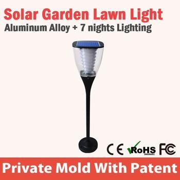Solar Power Led Terrace Solar Led Garden Light Pole Light