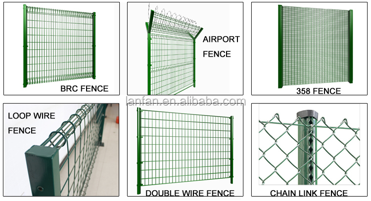 Top quality cheap PVC welded wire mesh and galvanized garden fence ,3 D curved welded wire mesh fence