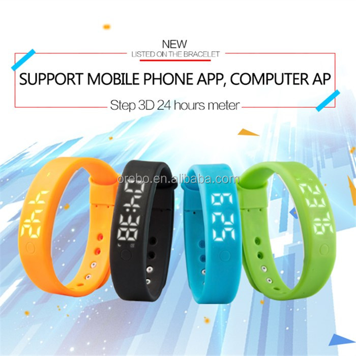 Cheap custom logo smart pedometer
