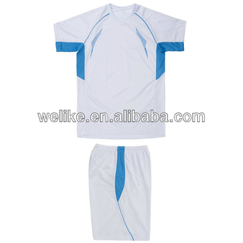 ac42895839d New model shirts casual wear white training shirts set cheap plain youth  jersey
