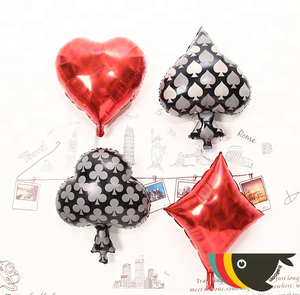 2.2Garm Latex Black Red Ballon Set Creative House Pull Flower Wedding Party Decoration