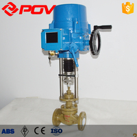 Motorized 2 inch brass Explosion proof globe Valve