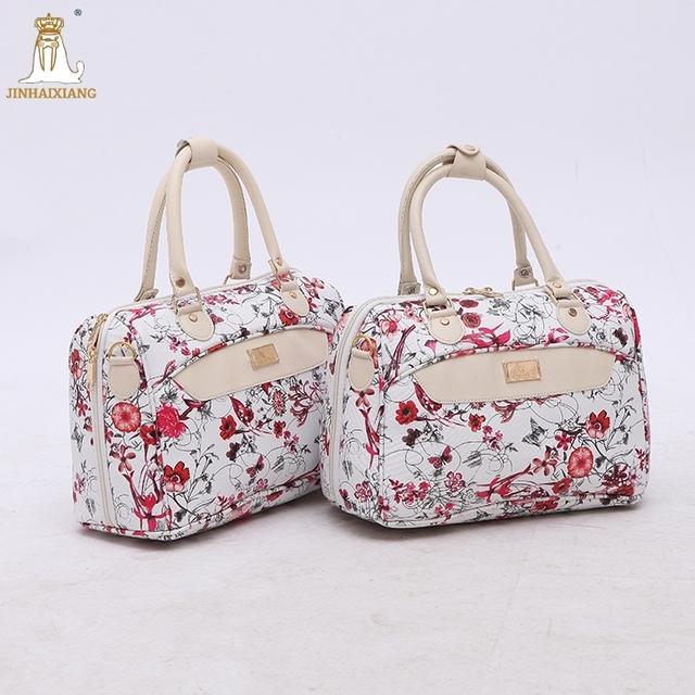 2017 Wholesale fashion genuine leather women tote bag handbag beauty case edc2e8169fcb6