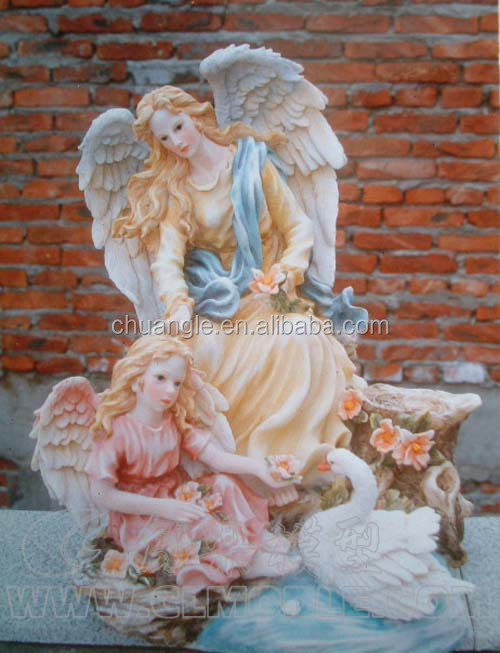 Arts and crafts wholesale poly resin, angel statue