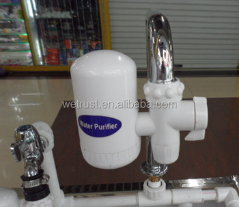 water purifier on faucet. Hi-Tech Ceramic Cartridge Water Purifier Tap Faucet Filter On