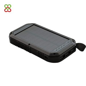 10W solar power bank 8000mAh solar mobile phone charger case
