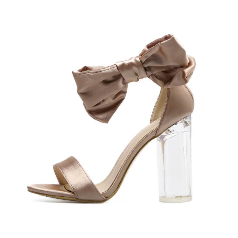 Latest designs bandage bowknot brands names shoes women high <strong>heels</strong>