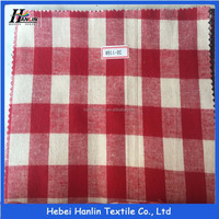 cotton yarn dyed shirting fabric in warehouse