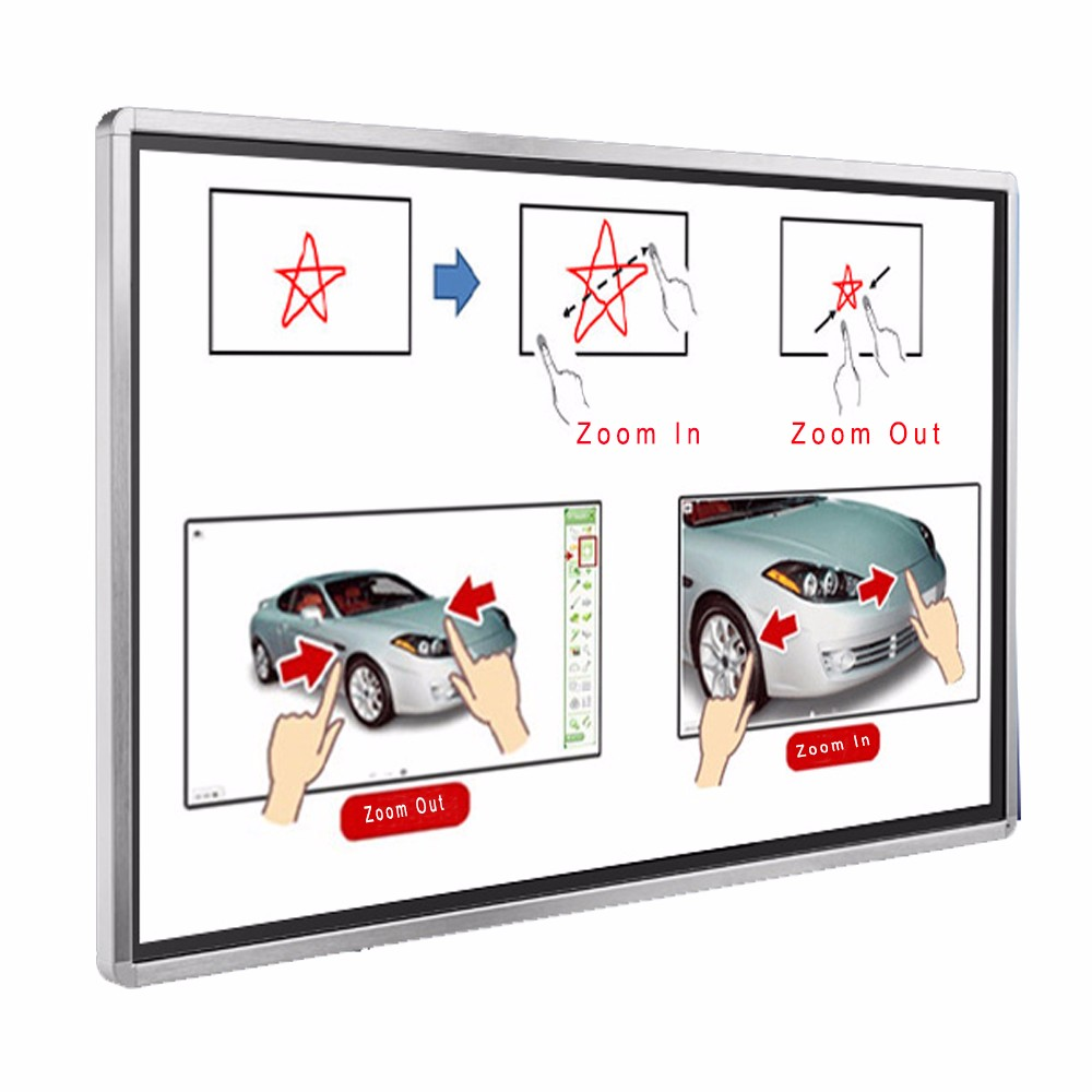 LCD Interactive Panel 65 Inches Touch Screen Smart Board