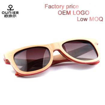 97c364ad6b Brand Name Free Bamboo Wood Sunglasses China Factory cat 3 uv400 sunglasses