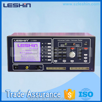 lx 560 cable test machine wire harness tester