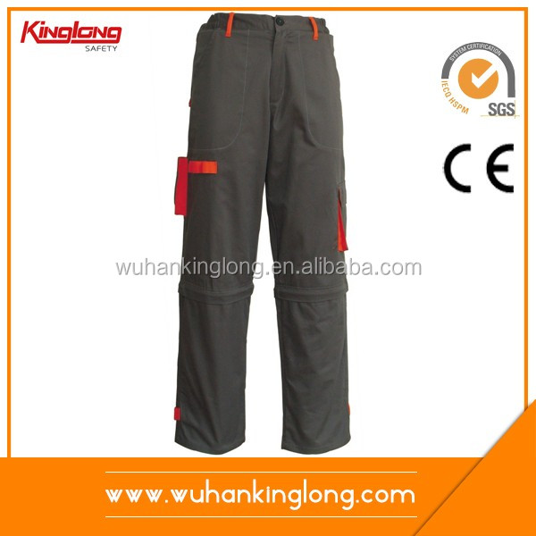 China supplier new product wholesale best price safety black work pants mens