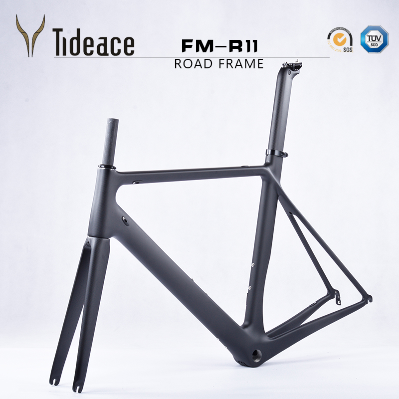 2016 high quality carbon frame T1000 Toray carbon road frame, Chinese carbon bicycle frame