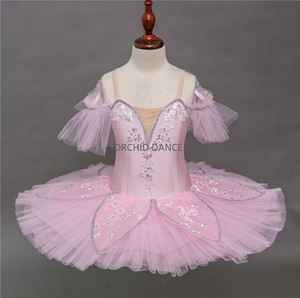 Professional Kids Dance Performance Wear Costume Cheap Child Ballet Tutu