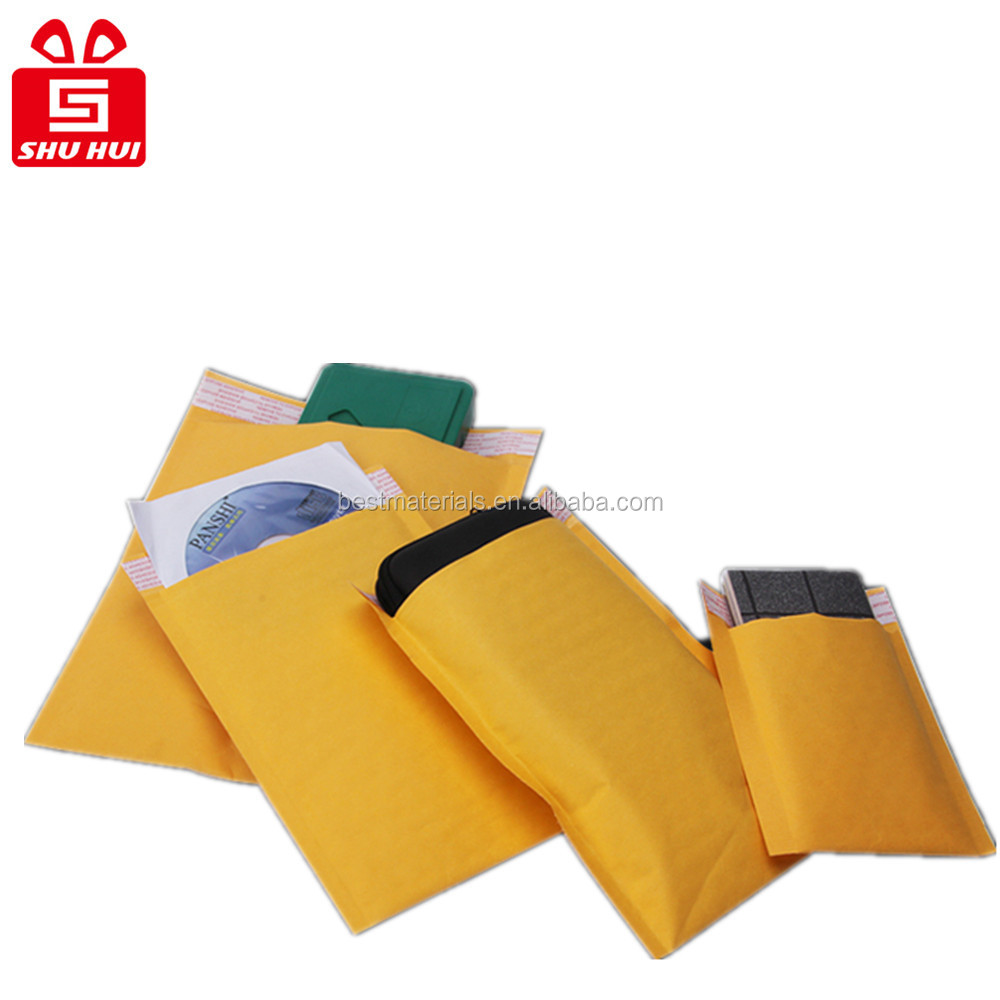 shipping package envelopes bubble mailers poly bubble transparent mailers, biodegradable air cushion mailer bag