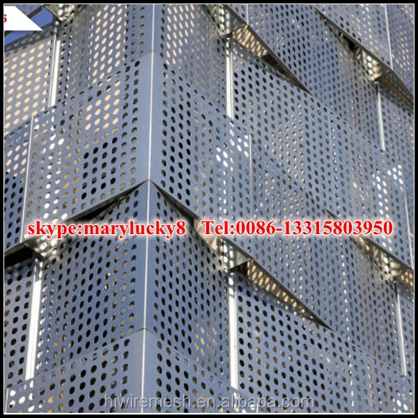 Architectural Exterior Perforated Metal Facade/perforated Sheet ...