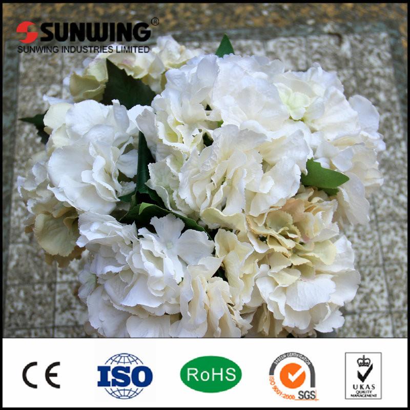 Barato al por mayor rosas flores artificiales hortensias for Decoracion hogar al por mayor