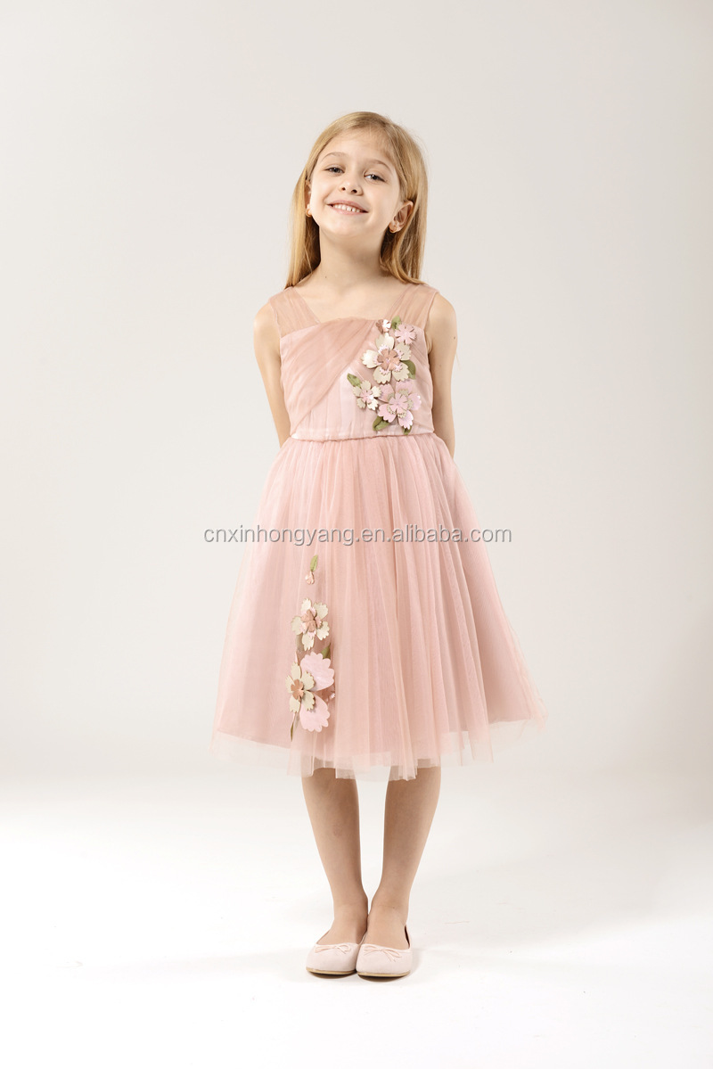 Source factory wholesale first birthday outfit tutu dresses beaded princess wedding  bride clothing lace flower girl dress beads