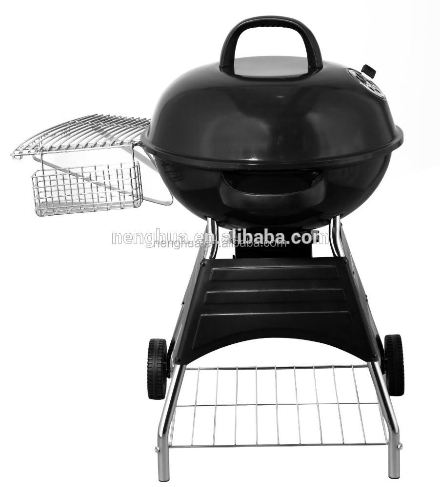 Nieuwe ontwerp outdoor houtskool bbq ketel grill bbq met wielen bbq grills product id - Barbecue ontwerp ...