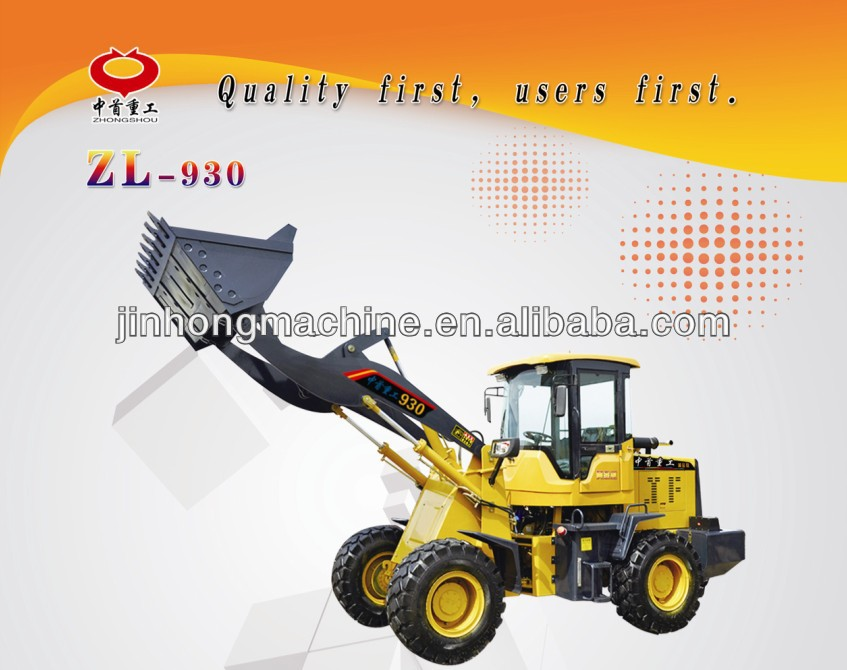big discount agricultural machinery 3 tons wheel loader
