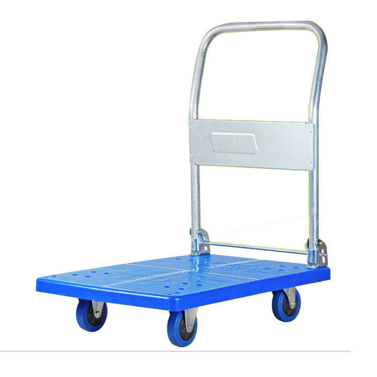 china heavy duty high capacity plastic hand truck