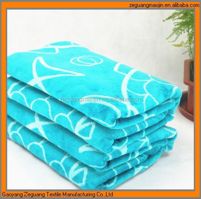 720GRAMS thickness reactive printed full cotton bath sheet