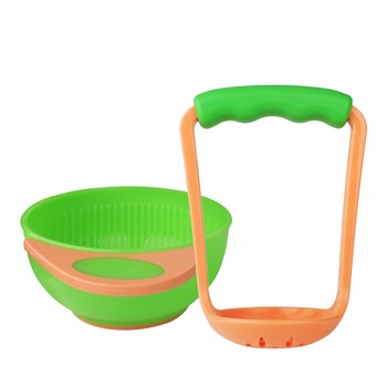 Amazon Hot Selling Baby Freshfoods Mash and Serve Bowl for Making Homemade Baby Food