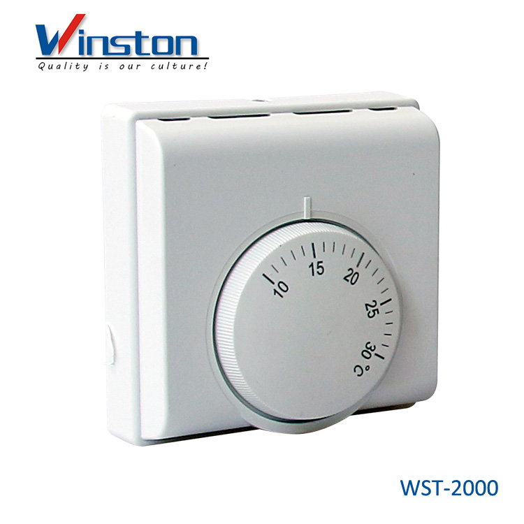 WST-2000 Adjustable 10A Mechanical Thermostat For Hotel