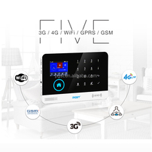 2018 monitoring 3 in 1 3G wifi GPRS home security alarm system, APP
