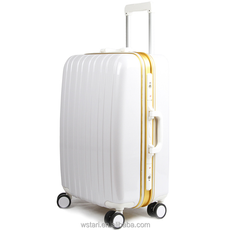 Brand universal wheels trolley luggage check box travel bag PC luggage