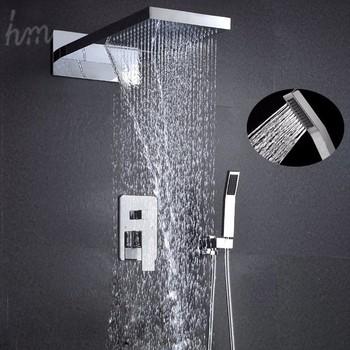 Moderne Luxe Mengkraan Koud En Hot Badkamer Accessoires Regen