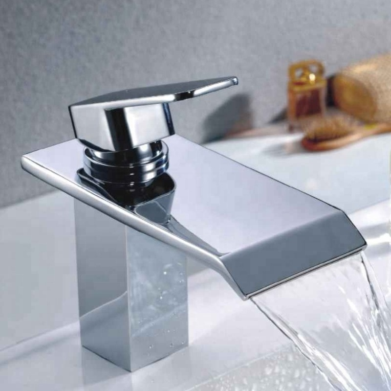 Br Waterfall Basin Faucet Cold And