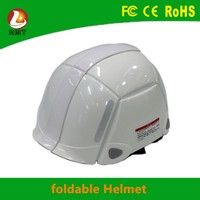 Unique new foldable safety helmet open face motorcycle helmets