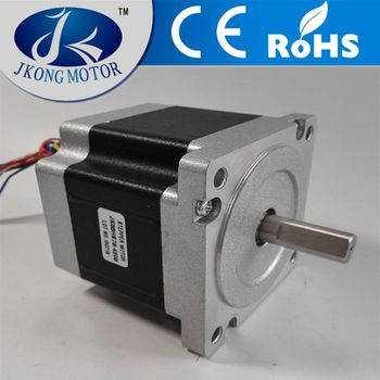 high speed stepper motor nema 34 electric motor double