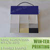 WT-CTL-1072-2 High quality fabric swatch sample book made