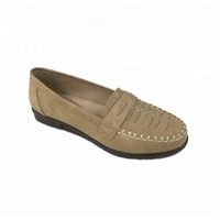 Designer 2018 Italian style women flat casual moccasin leather shoes